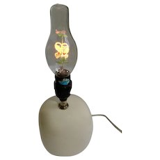Vintage Aerolux I Love You Glowing Flowers and Leaves Valentines Day Bulb and Love Lamp