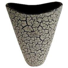 Jasba Keramik 1950's Cortina Lava Vase West Germany
