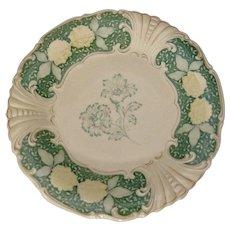 1952 PM&M Bavaria Germany Schwarzenhammer (Thierstein-Schwarzenhammer) Floral Motif Porcelain Charger Plate
