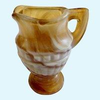 Vintage Imperial Glass 'Carmel Slag' Creamer