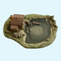 Lowell Davis Remus Cabin Fox Fire Farm Figurine Schmid