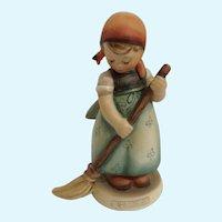 M. I. Hummel Goebel Little Sweeper Girl Figurine 1963