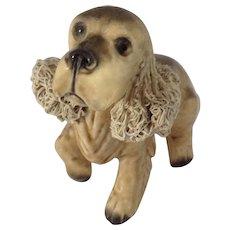Cocker Spaniel Dog Spaghetti Trim Ears 1964 Wales Porcelain Figurine Made in Japan