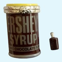 Hinged Trinket Box Hershey's Syrup Chocolate Flavor Can