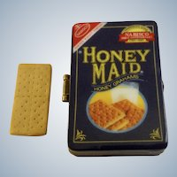 Hinged Trinket Box PHB Collection Retrospect Miniature Porcelain Nabisco Honey Maid Graham Crackers Famous Brands Classics by Midwest of Cannon Falls Discontinued