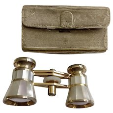 Admiral Mother of Pearl Women's Opera Glasses Binoculars 3X