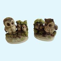 Witty Hoot Owls UCGC Korea Figurines