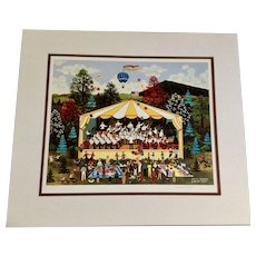 Jane Wooster Scott, Summer Symphony Limited Edition Lithograph Print 45/400 Signed By Artist
