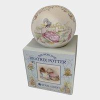 Beatrix Potter Money Ball Puddle Duck Royal Albert Bank England