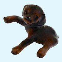Hagen Renaker Doberman Pup, #828 (1983-1986)  Dog Figurine