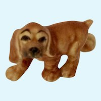 Hagen Renaker Juvenile Walking Cocker Blonde Dog Figurine