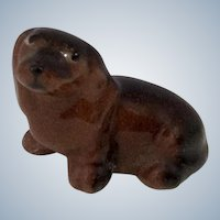 Hagen Renaker Schnapsie Jr. Dachshund Pup Puppy Dog, #81 (1950-1951) Retired Dog Figurine