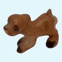Hagen Renaker Running Cocker Puppy Dog Tan Figurine