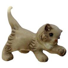 Hagen Renaker Persian, Grey, #386 Starting 1959-Retired Cat Figurine