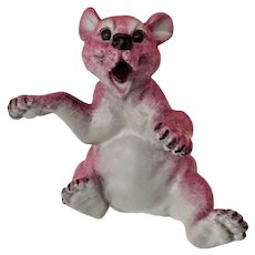Roland Kitty's Critters Laughing Bear Figurine