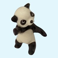Hagen Renaker Panda on Two Legs  Retired Bear Figurine