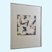 Michaele Keyes, Taking Flight, Monotype Print #129 Signed By Colorado Artist