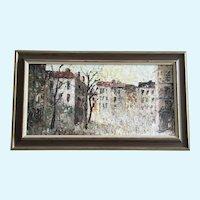 Albert G Cragoni, European Cityscape Mid-Century Oil Painting  Austrian Artist