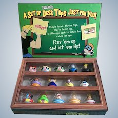 Cartoon Network, Can't Top This,  Kellogg's Cereal Desk Tops NIB 14 Character Figurines 2003 Discontinued