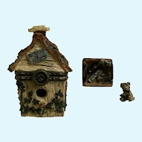 Boyds Bear and Friends Treasure Trinket Box #392107 Chester's Birdhouse