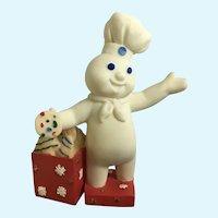Danbury Mint Pillsbury Doughboy December Christmas Calendar Replacement Figure 1997 Retired