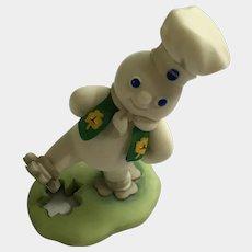 Danbury Mint Pillsbury Doughboy March Saint Patrick's Day Calendar Replacement Figure 1997 Retired