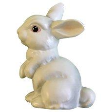 Goebel W. Germany White Bunny Rabbit Figurine 1984 Retired