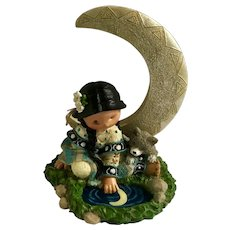 Friends of the Feather Silent Moon Enesco Karen Hahn Indian Figurine #103223
