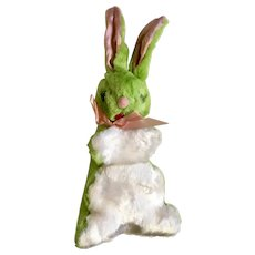 Vintage Green Easter Bunny Rabbit Stuffed Plush Animal Sterling Best Ever Product Brooklyn, New York