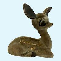 Big Ear Deer Figurine Souvenir from Badlands South Dakota SD