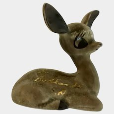 Big Ear Deer Figurine Souvenir from Badlands South Dakota SD