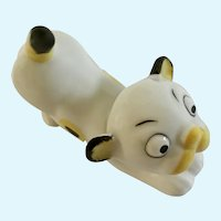 Vintage Roaring Lion Cub Figurine Germany with Yellow and Black Spots