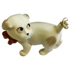 1900-1934 German Bonzo Gotha Pfeffer Germany Porzellan Porcelain Dog Figurine