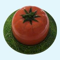 Maruhon Ware Tomato Butter Dish  K Japan #69429