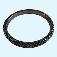 """Silver-Tone Bracelet Metal Mesh 8-1/4"""""""