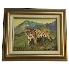 Marilyn Johnson, Tiger Mountain Landscape Oil Painting on Canvas Signed By Artist