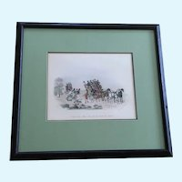 Newhouse, Charles B. (1805-1877) No Time To Lose Ma'am Lithograph Print
