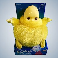"Yellow Boohbah Humbah Doll New in Box 10"" Silly Sounds Ragdoll's Jingbah Doll Playskool 2+"