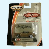 2002 Matchbox 1970 Pontiac GTO Die Cast Car Collectable Barrett-Jackson New in Box Mattel