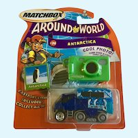 2003 Matchbox Antarctica Diecast Car Around the World #36 Penguin New in Box Mattel