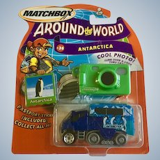 2003 Matchbox Antarctica Diecast Car Around the World #36 Penguin New in Box Mattel