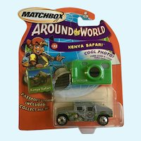 2003 Matchbox Kenya Safari Die Cast Car Around the World #32 NIB