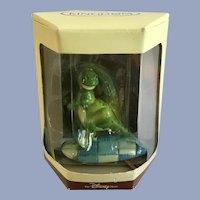 Disney's Tiny Kingdom Toy Story Rex Dinosaur Miniature Figurine Retired New in Box