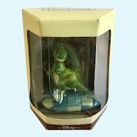 Disney's Tiny Kingdom Toy Story Rex Dinosaur Miniature Figurine Retired New in Box