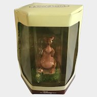 Disney's Tiny Kingdom Winnie the Pooh and the Honey Tree Kanga Kangaroo Miniature Figurine Retired New in Box
