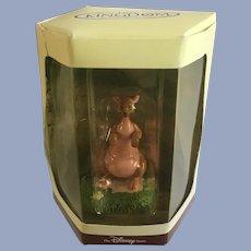Disney's Tiny Kingdom Winnie the Pooh Kanga Kangaroo Miniature Figurine NIB