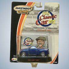 2002 Matchbox Chevrolet SSR Pickup Die Cast Car My Classic Car Collection New in Box Mattel