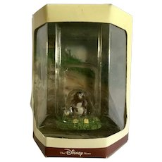 Disney's Tiny Kingdom Winnie the Pooh and the Honey Tree Gopher Miniature Figurine Retired New in Box
