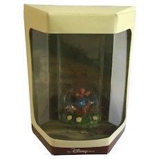 Disney's Tiny Kingdom Winnie the Pooh and the Honey Tree Roo Kangaroo Miniature Figurine Retired New in Box