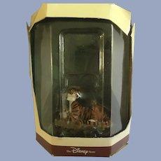 Disney's Tiny Kingdom Jungle Book Shere Khan Tiger Lion Miniature Figurines NIB